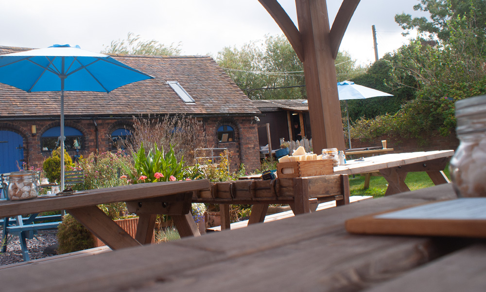 Astley Book Farm's Coffee Garden